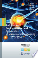 Automation  Communication and Cybernetics in Science and Engineering 2013 2014