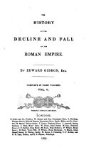 The History of the Decline and Fall of the Roman Empire, 5