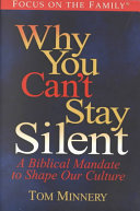 Why You Can't Stay Silent : efforts solely into building up the church,...