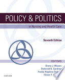 Policy   Politics in Nursing and Health Care