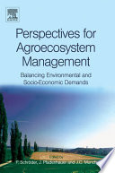 Perspectives for Agroecosystem Management