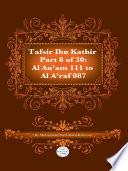 Tafsir Ibn Kathir Juz  8  Part 8