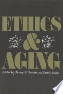 Ethics and Aging