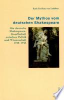 Der Mythos vom deutschen Shakespeare