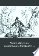Musenkl  nge aus Deutschlands leierkasten