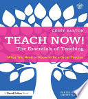 Teach Now  The Essentials of Teaching
