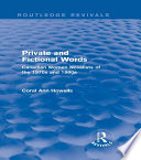 Private and Fictional Words  Routledge Revivals