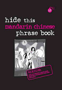 Hide This Mandarin Chinese Phrase Book