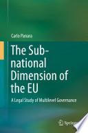 The Sub national Dimension of the EU