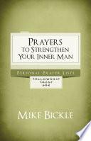Prayers To Strengthen Your Inner Man