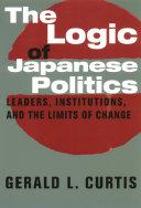 The Logic of Japanese Politics