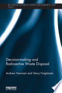 Decision making and Radioactive Waste Disposal
