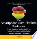 Pro Smartphone Cross Platform Development