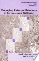 Managing External Relations in Schools and Colleges