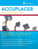 Accuplacer Study Guide 2017 2018
