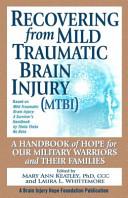 Recovering From Mild Traumatic Brain Injury Mtbi  book