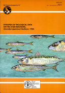 Synopsis of Biological Data on the Chub Mackerel (Scomber Japonicus Houttuyn, 1782)