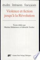 Violence et fiction jusqu    la R  volution