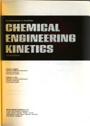 Solutions Manual To Accompany Chemical Engineering Kinetics By J M Smith Second Edition book