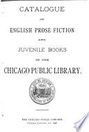 Catalogue of English Prose Fiction and Juvenile Books