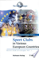 Sport Clubs in Various European Countries