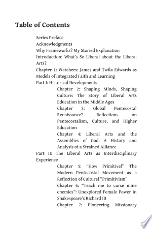 What's So Liberal about the Liberal Arts?: Integrated Approaches to Christian Formation - ISBN:9781498231459