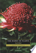 The Names of Plants
