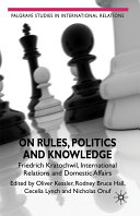 On Rules, Politics and Knowledge