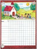 Sunday School Attendance Chart