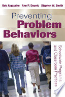 Preventing Problem Behaviors