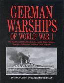 German Warships Of World War 1 : confidential books produced by british...