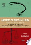 Questões De Bioética Clínica 1a Edição