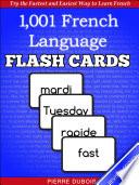 1 001  French Language Flash Cards