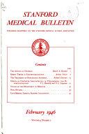 Stanford Medical Bulletin