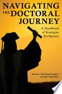 Navigating the Doctoral Journey