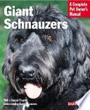 Giant Schnauzers book