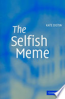 The Selfish Meme : and workable concept of cultural...
