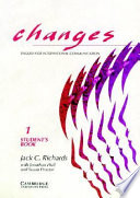 Changes 1 Student s Book