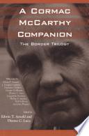 A Cormac Mccarthy Companion book