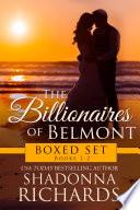 Billionaires Of Belmont Boxed Set Books 1 2