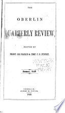The Oberlin Quarterly Review