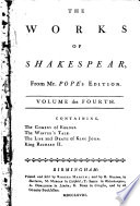 The Works of Shakespear