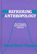Refiguring anthropology