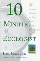 10 Minute Ecologist
