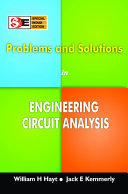 Problems And Solutions In Engineering Circuit Analysis