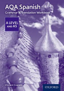 AQA a Level Spanish  Grammar and Translation Workbook