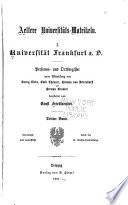 Publicationen aus den Preussischen staatsarchiven ...