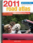 American Map 2011 United States Road Atlas Large Scale
