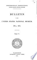 Bulletin  United States National Museum