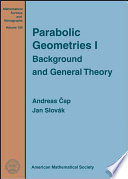Parabolic Geometries  Background and general theory